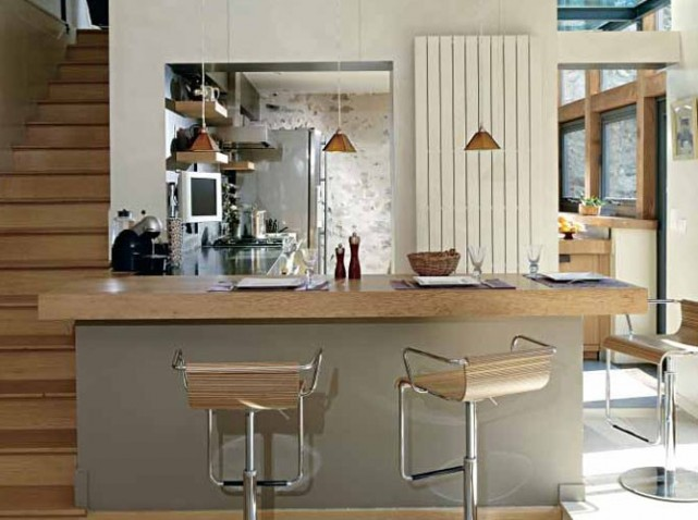 Cuisine americaine decoration interieur for Exemple decoration interieur