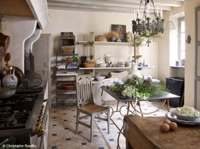 modèle cuisine deco campagne