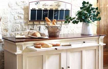 Cuisine deco campagne chic for Decoration campagne chic