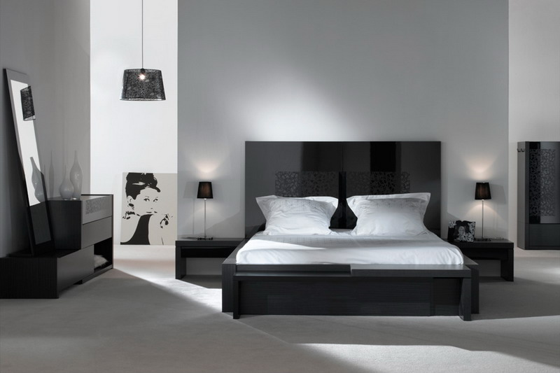 deco chambre a coucher blanc. Black Bedroom Furniture Sets. Home Design Ideas