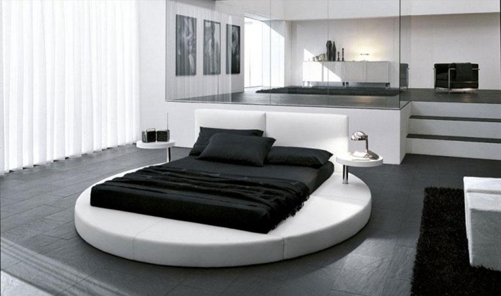 Chambre a coucher blanc et noir - Meuble, Oreiller, Matelas ...