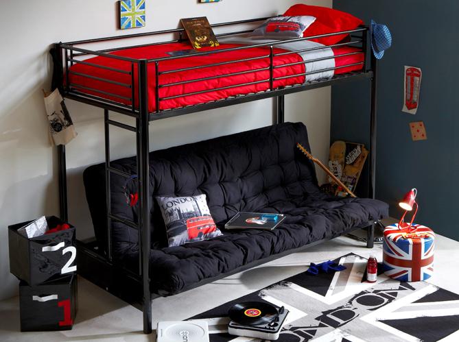 deco chambre ado conforama. Black Bedroom Furniture Sets. Home Design Ideas