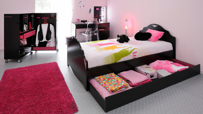 deco chambre ado fille design. Black Bedroom Furniture Sets. Home Design Ideas