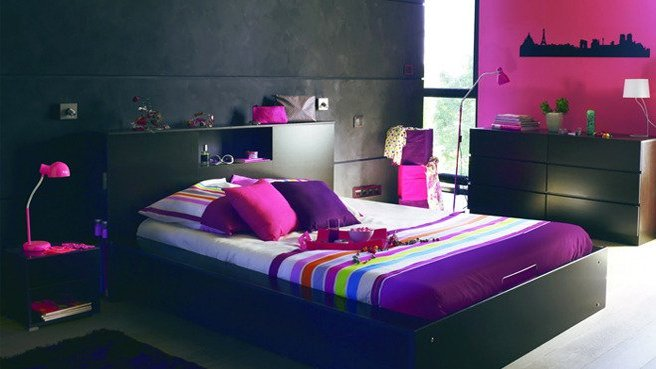 Photo deco chambre ado fille design