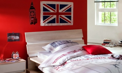 Deco chambre ado fille london - Deco chambre london fille ...