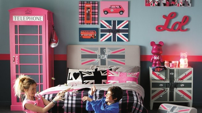 Decoration Chambre Fille Londres