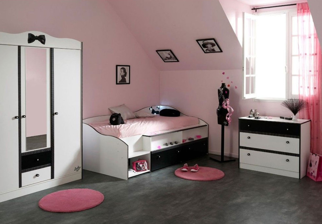 image chambre ado fille meilleures images d 39 inspiration. Black Bedroom Furniture Sets. Home Design Ideas