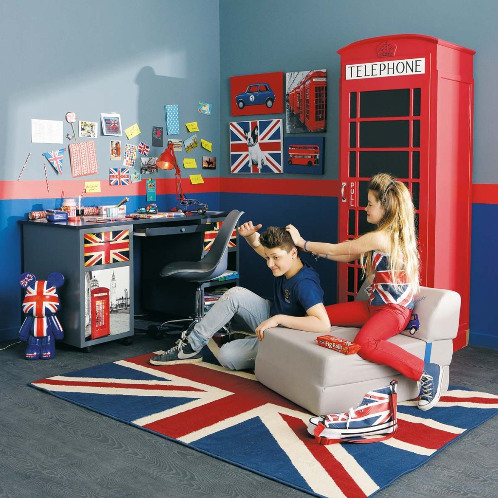 Deco chambre ado gar on london - Idee de chambre ado ...