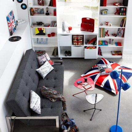 deco chambre ado gar on london. Black Bedroom Furniture Sets. Home Design Ideas