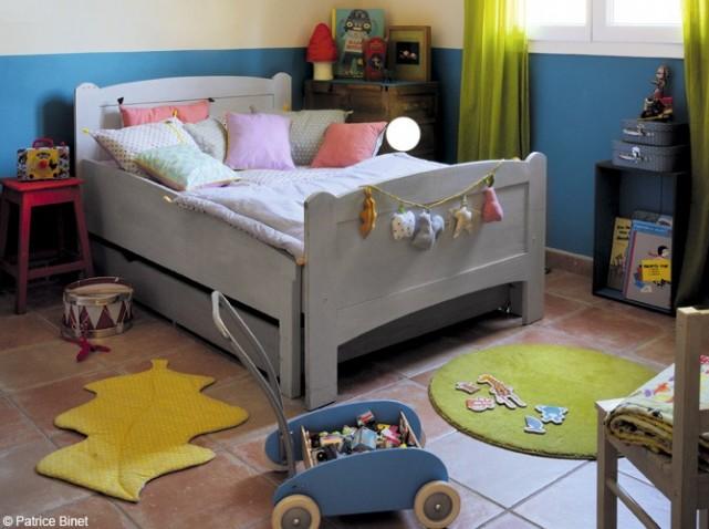 Deco chambre ado garcon bleu gris - Deco chambre gris bleu ...