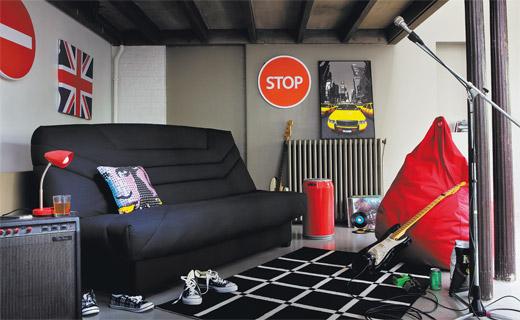 deco chambre ado garcon london. Black Bedroom Furniture Sets. Home Design Ideas