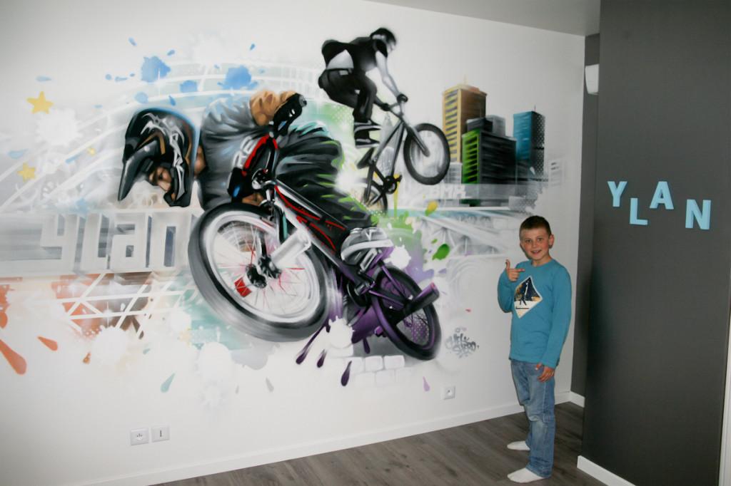 Deco chambre ado garcon moto - Deco urbaine chambre ado ...