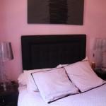 deco chambre adulte rose et noir