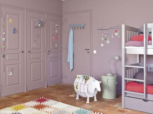 modèle deco chambre bebe fille