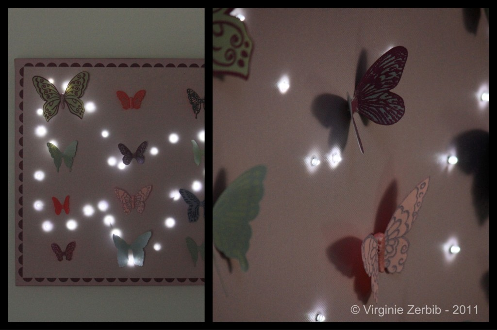Decoration Papillon Chambre Bebe : Deco chambre bebe fille papillon