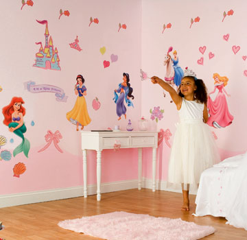 Deco chambre bebe fille princesse for Chambre fille princesse