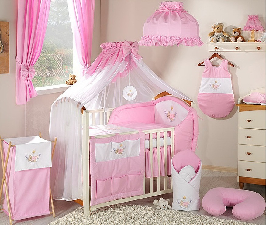 deco chambre bebe fille rose. Black Bedroom Furniture Sets. Home Design Ideas
