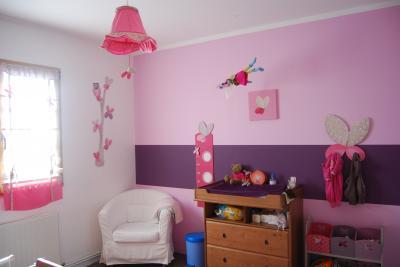Couleur Chambre Fille. Chambre Multicolore Fille. Couleur Chambre ...