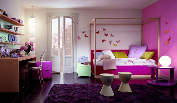 Photo deco chambre fille ado