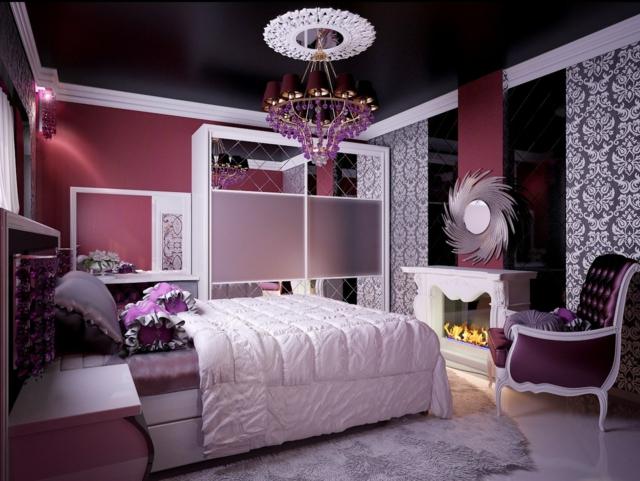 d co chambre fille ado moderne. Black Bedroom Furniture Sets. Home Design Ideas