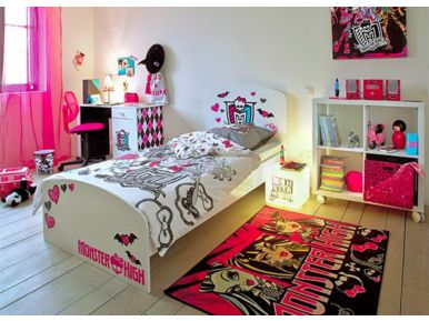comment decorer une chambre monster high. Black Bedroom Furniture Sets. Home Design Ideas