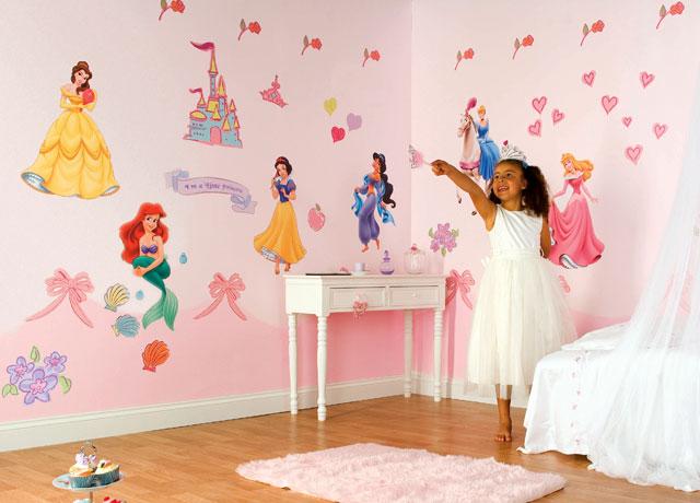 Deco chambre fille princesse for Exemple deco chambre