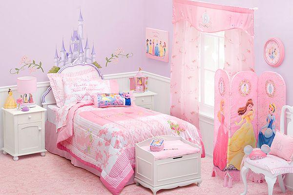 organisation deco chambre fille princesse disney - Photo Déco
