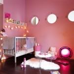 deco chambre fille rose
