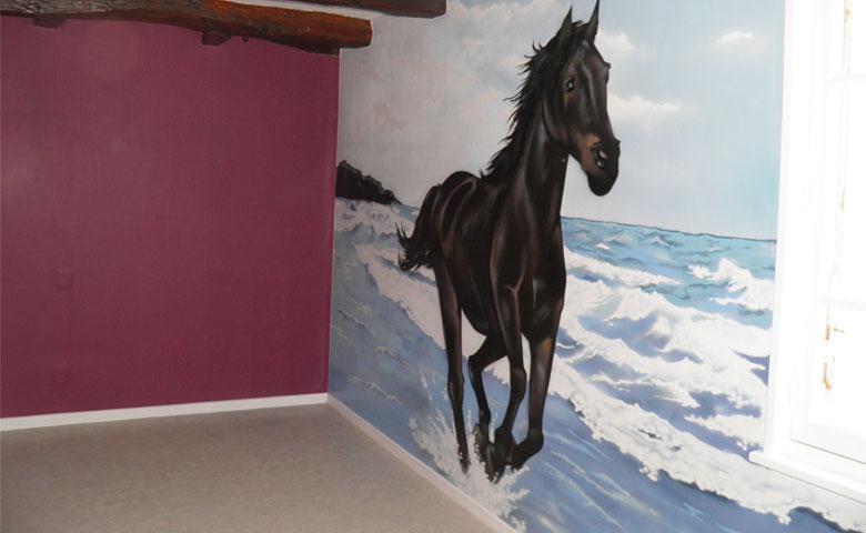 deco chambre fille theme cheval. Black Bedroom Furniture Sets. Home Design Ideas