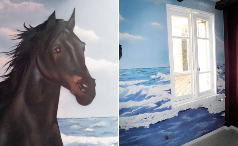 Chambre Deco Cheval : Deco chambre fille theme cheval
