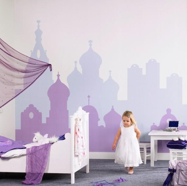 Deco chambre fille violet for Deco chambre fille violet
