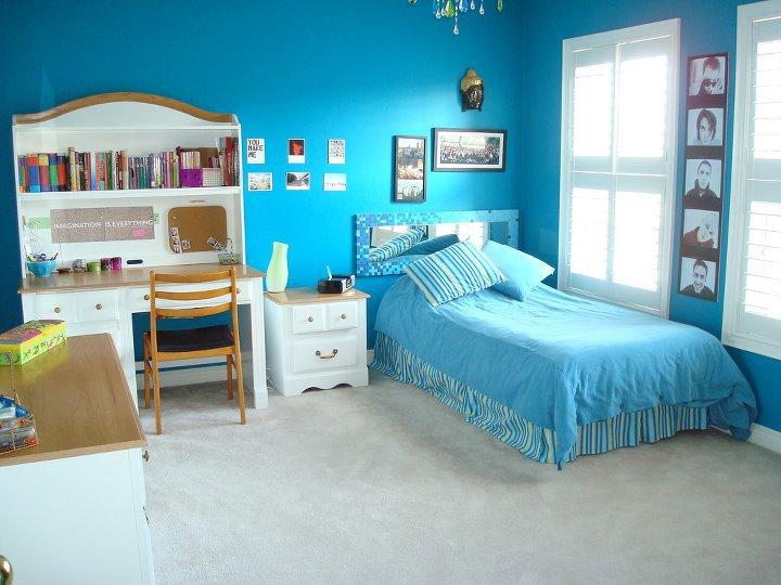Jolie deco chambre garcon bleu - Photo Déco