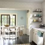 deco cuisine blanc et bleu