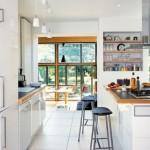 deco cuisine blanc et bois