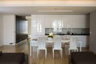 Deco cuisine blanche et noire - Cuisine noire et blanche ...