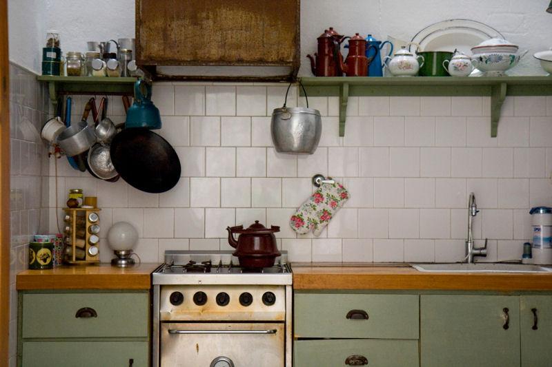 Photo Deco Cuisine Blanche Et Verte