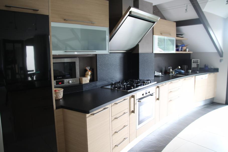 Deco cuisine moderne bois for Cuisine integree en bois