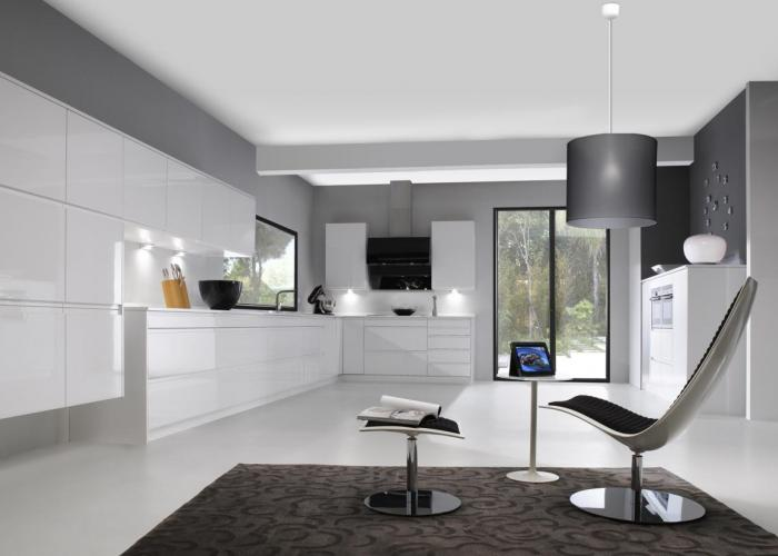 Decoration Wc Noir Blanc Gris