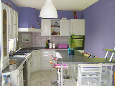 Deco cuisine peinture for Deco cuisine 4 bourgeois