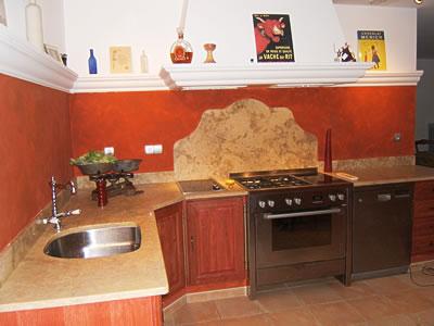 Deco cuisine peinture - Exemple peinture cuisine ...