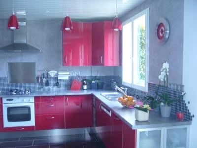 deco cuisine rouge et noir. Black Bedroom Furniture Sets. Home Design Ideas