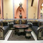 deco de salon marocain