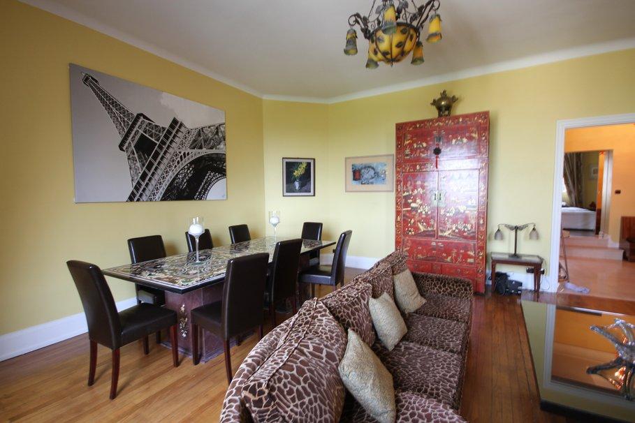 Deco interieur salon vert et noir - Salon amenagement interieur ...