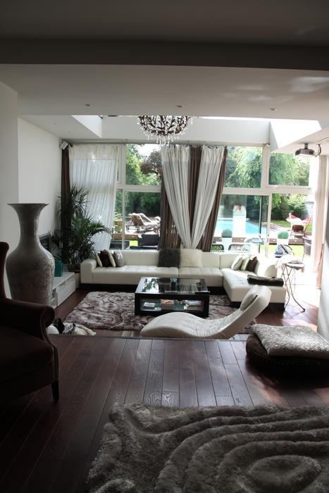 exemple deco interieur salon vert et noir - Exemple De Decoration Interieur