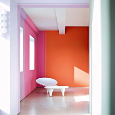Deco peinture salon 2013 - Exemple peinture salon ...