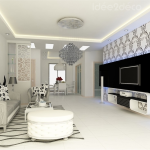 deco salon blanc