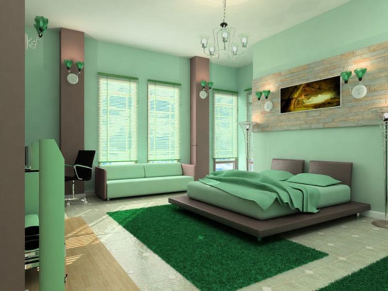 idée déco chambre à coucher couleurs - Model De Peinture Pour Chambre A Coucher