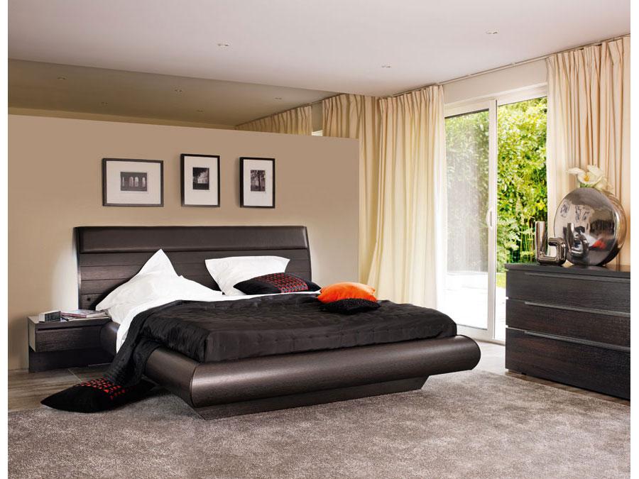 modèle déco chambre à coucher moderne