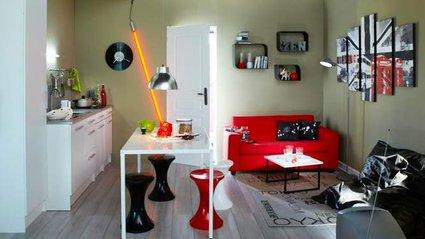 d co chambre tudiant. Black Bedroom Furniture Sets. Home Design Ideas