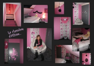 d co chambre ado baroque. Black Bedroom Furniture Sets. Home Design Ideas